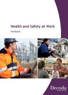 Health and safety at work workbook cover