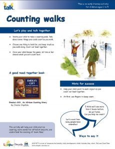 Counting Walks