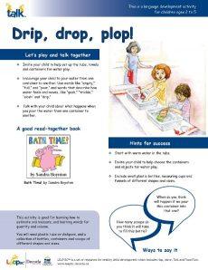 Drip Drop Plop