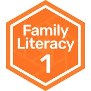 Family literacy level 1 badge
