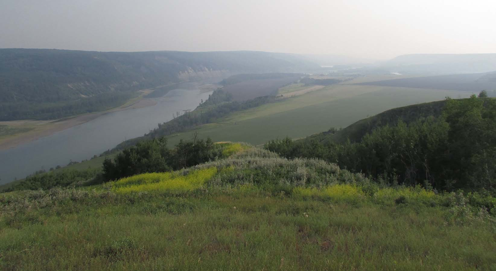 Fort St John, Peace River Valley downstream