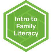 Intro to Family Literacy badge