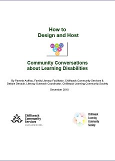 How to Design and Host Community Conversations about Learning Disabilities
