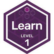 Participation badge level 1