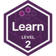 Participation badge level 2