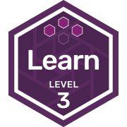 Participation badge level 3