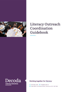 Literacy Outreach Coordination Guidebook cover