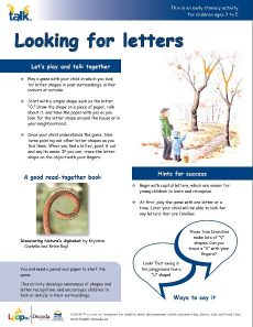 Looking for Letters