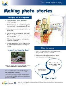 Making photo stories