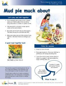 Mud pie muck about