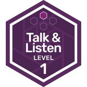 Oral Communications badge level 1