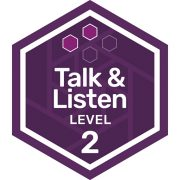 Oral Communications badge level 2