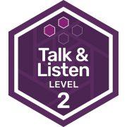 Oral Communications badge level 2