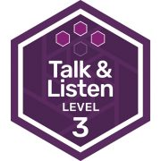 Oral Communications badge level 3