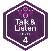 Oral Communications badge level 4