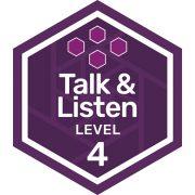 Oral Communications badge level 4