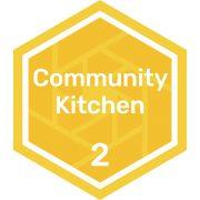 Community kitchen level 2 badge