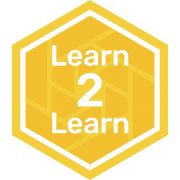 Learn to learn badge