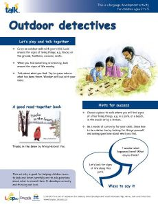 Outdoor Detectives