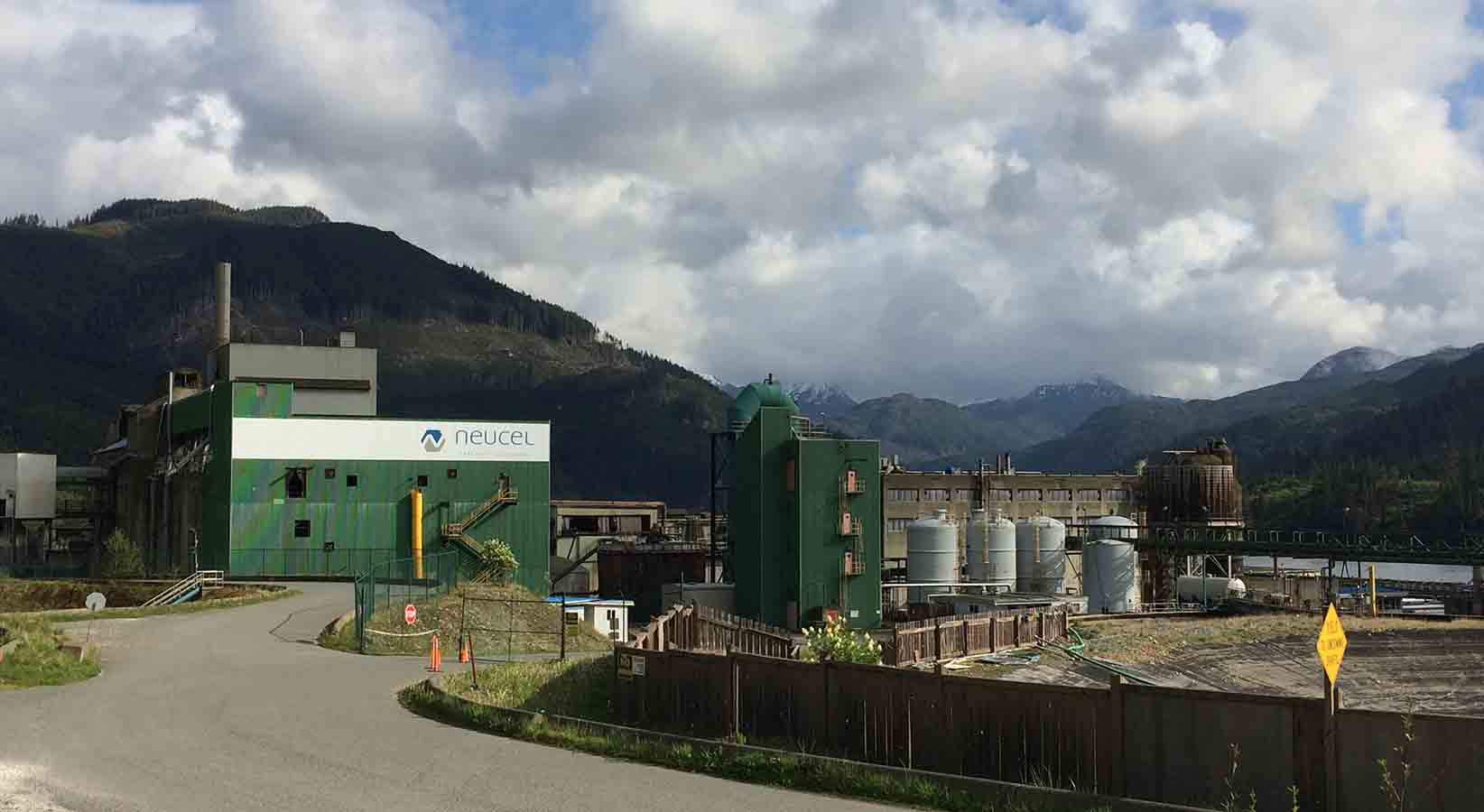 Neucel Cellulose Pulp Mill, Port Alice, BC