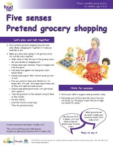 Pretend Grocery Shopping