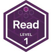 Read badge level 1