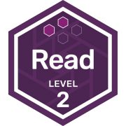 Read badge level 2