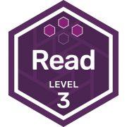 Read badge level 3