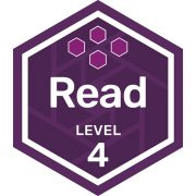 Read badge level 4