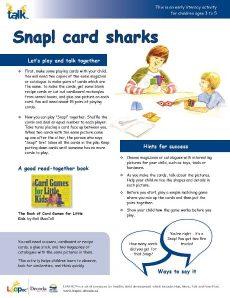 Snap Card Sharks