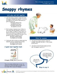 Snappy Rhymes