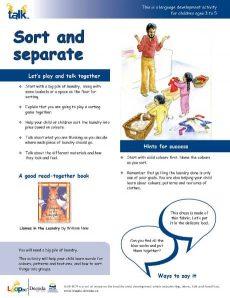 Sort and Separate