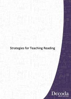 Strategies for Teaching Reading