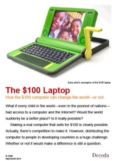The $100 laptop