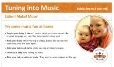 Tuning into Music Listen! Make! Move! - Babies cover