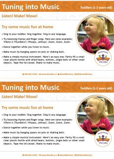 Tuning into music toddlers